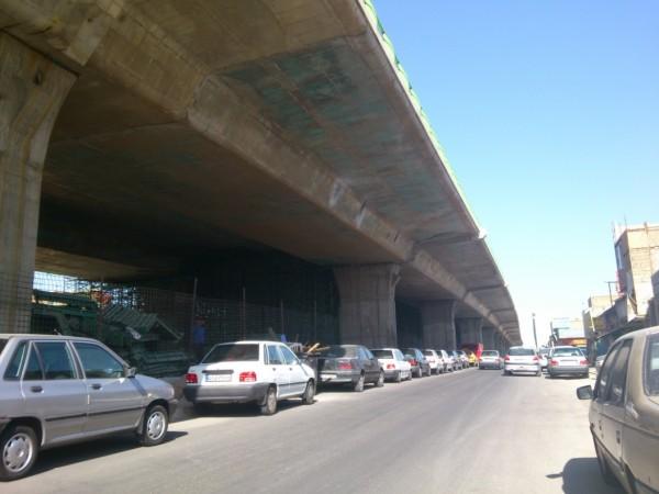 پل شهید زین الدین تهران